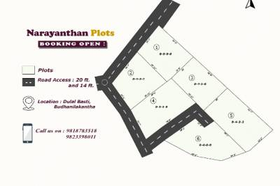 Land located at Budhanilkantha is on Sale