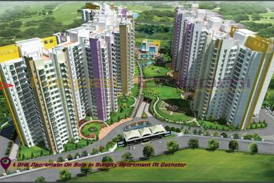 4 BHK Apartment in Suncity Apartment for sale at Gothatar