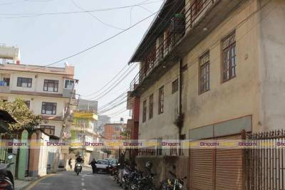 House on Rent for Business Purpose at Thapa Gaun