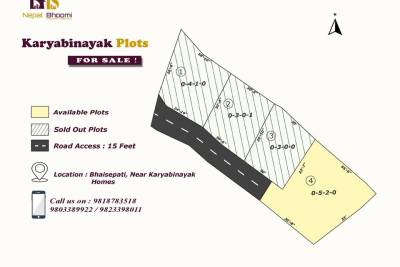 Land For Sale at Bhaisepati